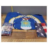 Air Force Flags and American Flags