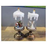 Snow Globe Candles