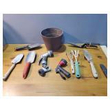 Gardening Tools and Bucket