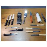 Knife Sets, Utinsels, and Spatula