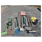 Yard Tools and Quikrete