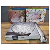 Crystal Platters & Bowls