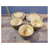 10 Piece Bowls & Plates