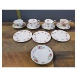 Tea Cups & Plates