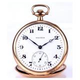 Waltham, gold filled, pocket watch