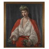Gursline, oil painting, art