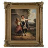 oil painting, antique art, original art