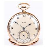 Elgin, gold filled, pocket watch