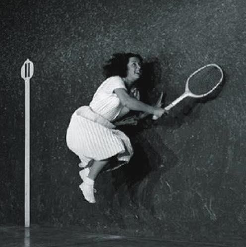 La Raquetista