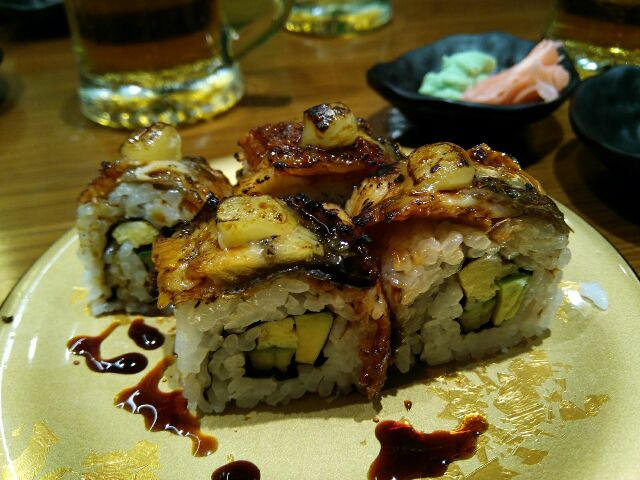Maki Unagi cheese
