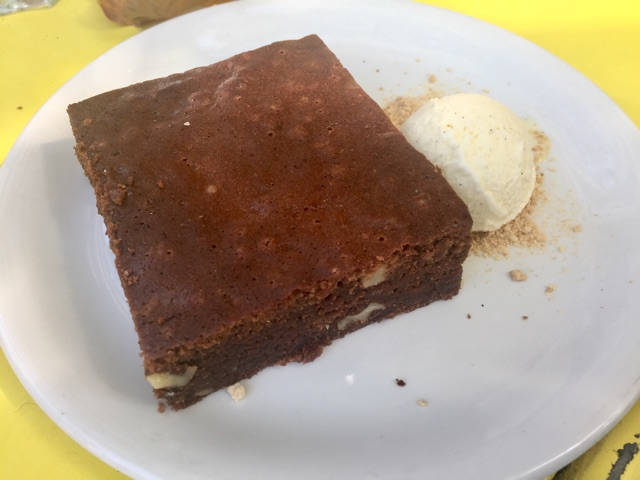 Brownie artesano