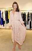 LOS ANGELES, CA - JULY 29:  Model Miranda Kerr attends the opening of the ZIMMERMANN Melrose Place Flagship Store hosted by Nicky and Simone Zimmermann on July 29, 2015 in Los Angeles, California.  (Photo by Donato Sardella/Getty Images for Zimmermann) *** Local Caption *** Miranda Kerr