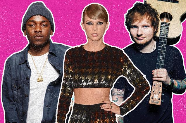 Kendrick-Lamar-Taylor-Swift-Ed-Sheeran