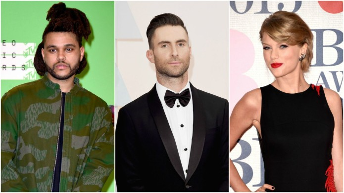 the-weeknd-adam-levine-taylor-swift