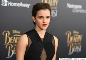 Actress Emma Watson attends the New York special screening of Disney's live-action adaptation 'Beauty and the Beast' at Alice Tully Hall on March 13, 2017 in New York City. / AFP PHOTO / ANGELA WEISS        (Photo credit should read ANGELA WEISS/AFP/Getty Images)