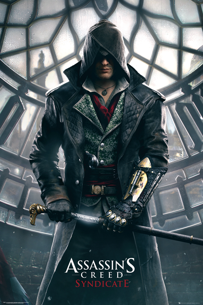 game cover of Assassins Creed.