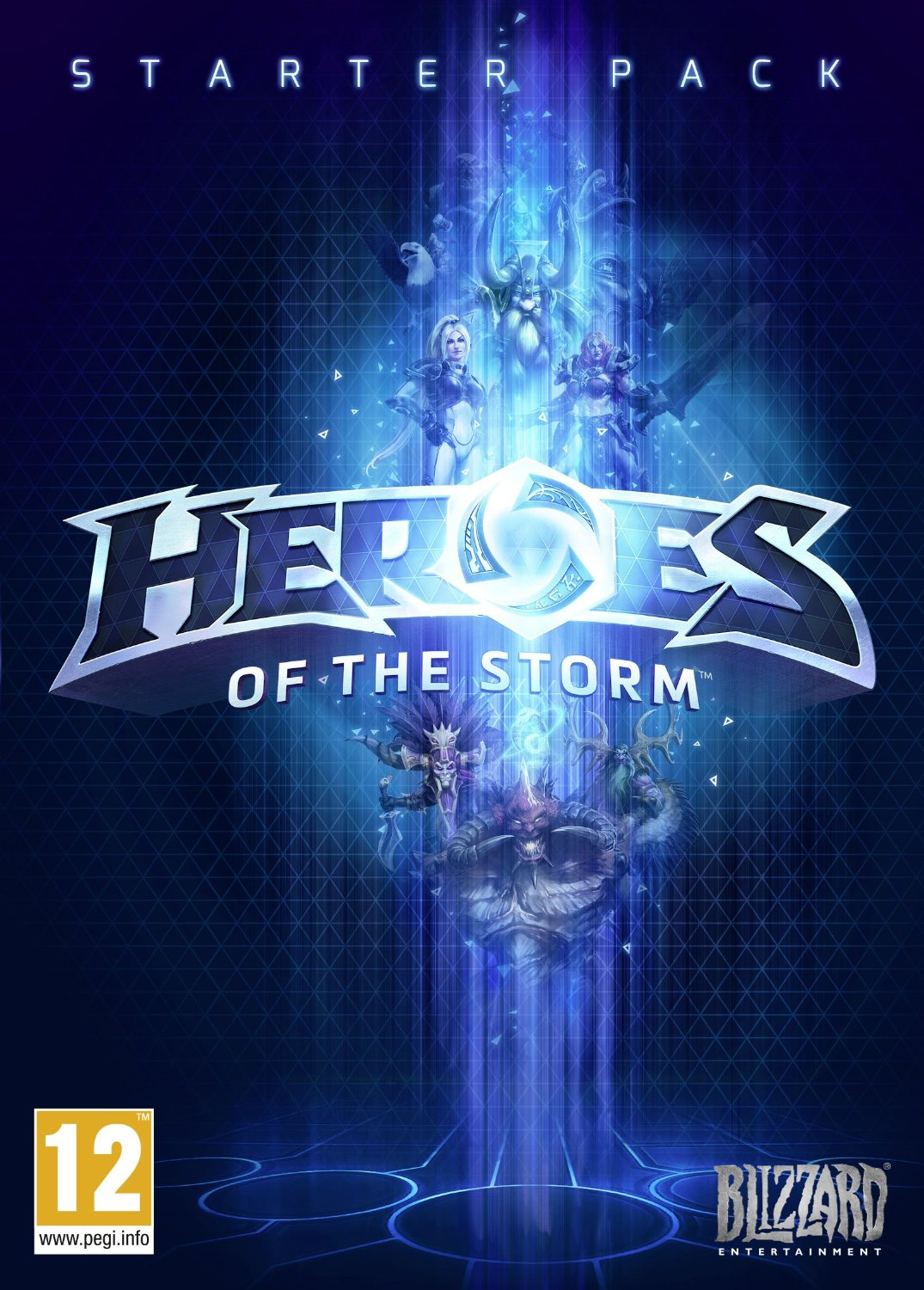 game cover of Heroes of the Storm.