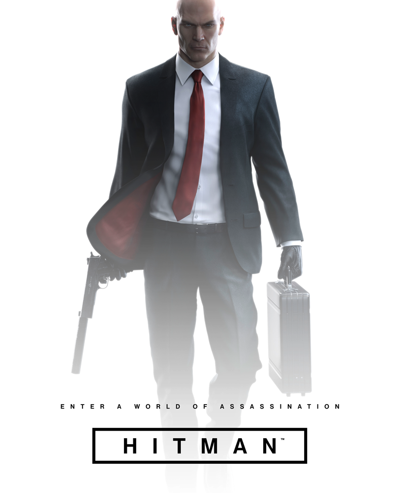 game cover of Hitman.