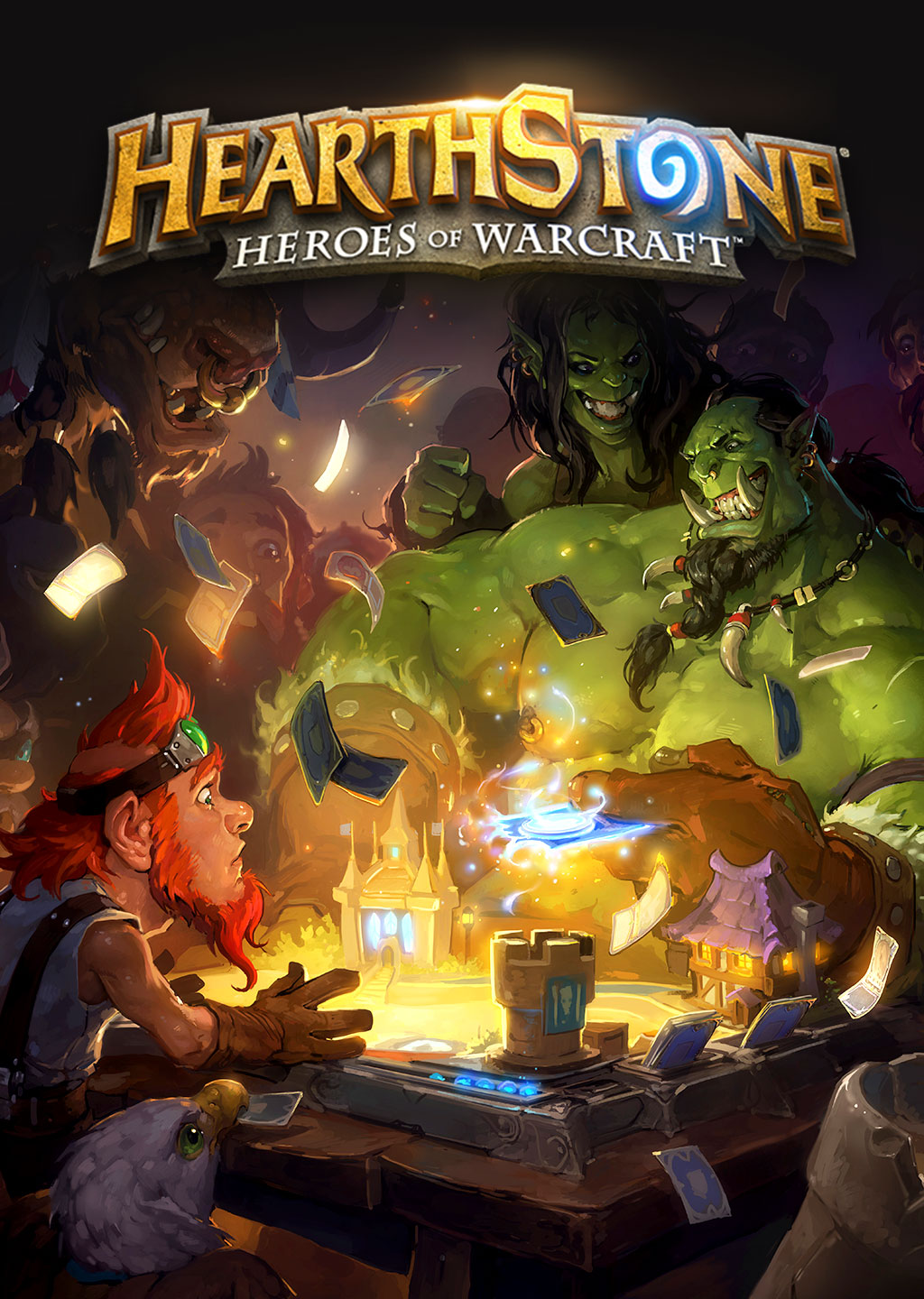 game cover of HearthStone.
