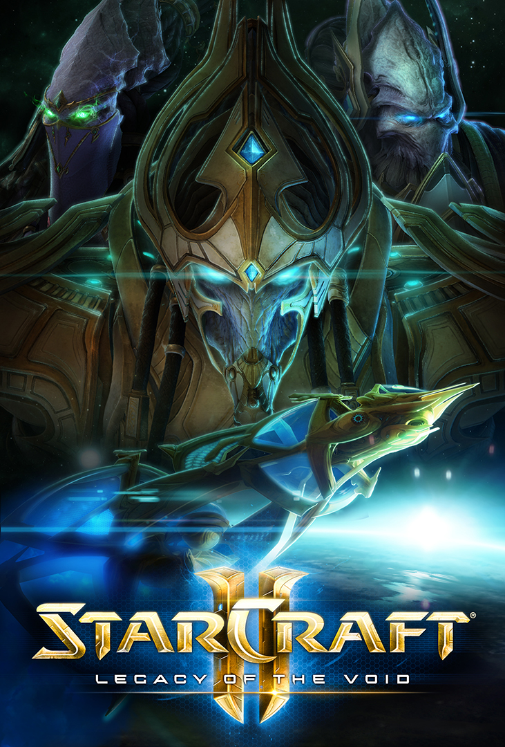game cover of StarCraft 2.