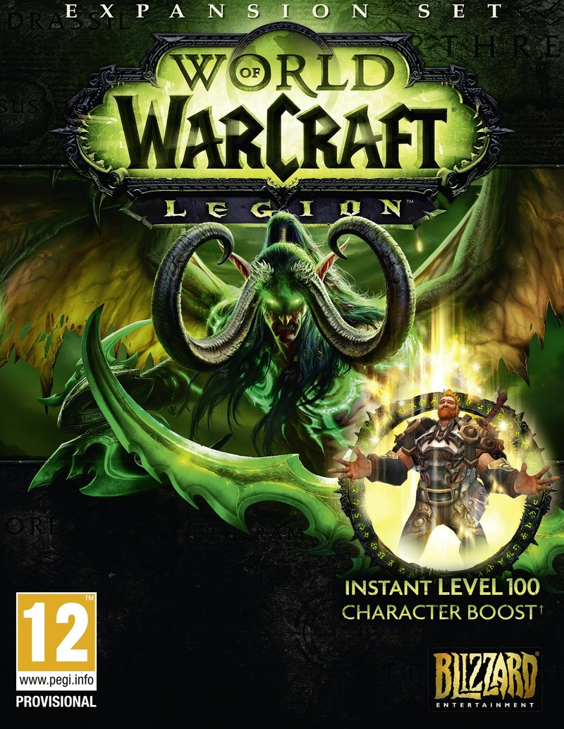 game cover of World Of Warcraft.