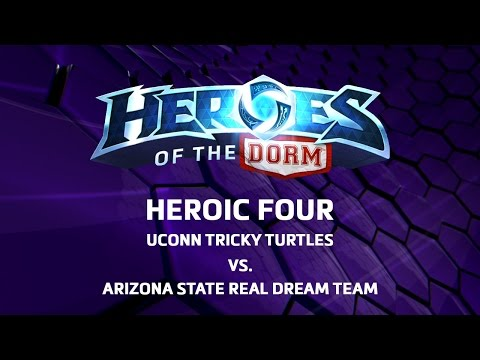 Heroes of the Storm tournament video.