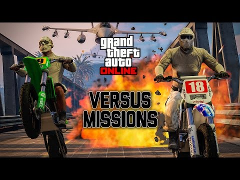 GTA V Online Stream - Playing Double GTA$ Versus Missions