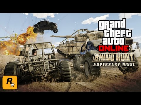 GTA V Online Stream - Rhino Hunt