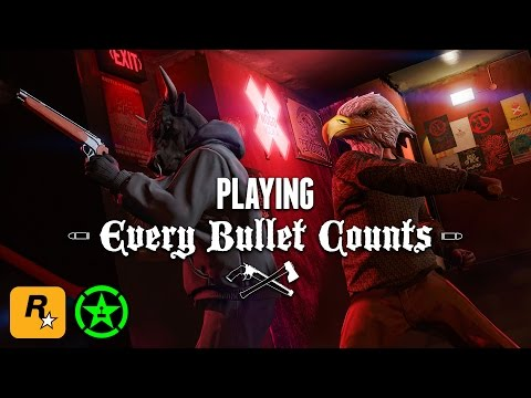 GTA V Stream - Every Bullet Counts with Achievement Hunter & Lazlow