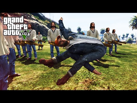 GTA V Funny Moments - Creating Chaos With Mods!