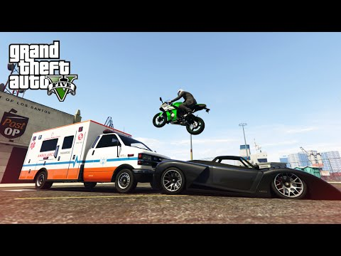 GTA V Stunts & Fails - Luckiest Stunt Ever!