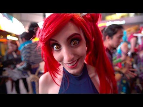 League Of Legends cinematic video.
