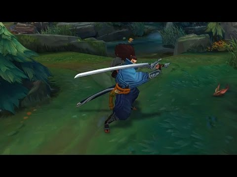 League Of Legends gameplay video.