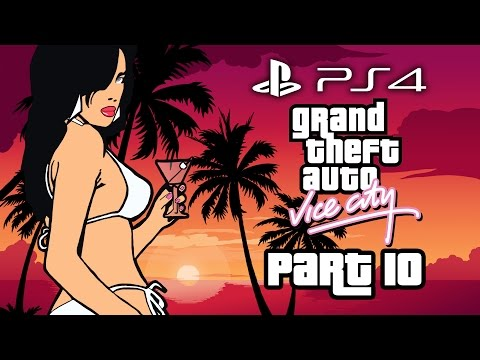 Grand Theft Auto Vice City PS4 Gameplay Walkthrough Part 10 - PSYCHO KILLER