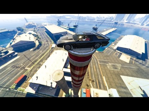 LUCKIEST CAR STUNTS EVER! - (GTA 5 DLC Stunts & Fails)