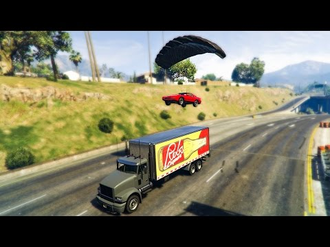 EPIC JAMES BOND STUNT! - (GTA 5 DLC Stunts & Fails)