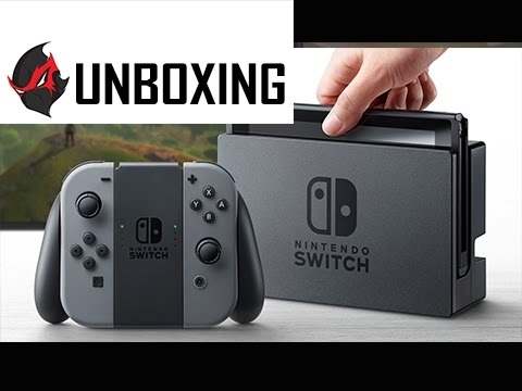 Nintendo Switch Unboxing and Setup