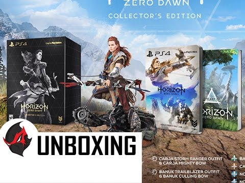 Horizon Zero Dawn Collector's Edition Unboxing + Review