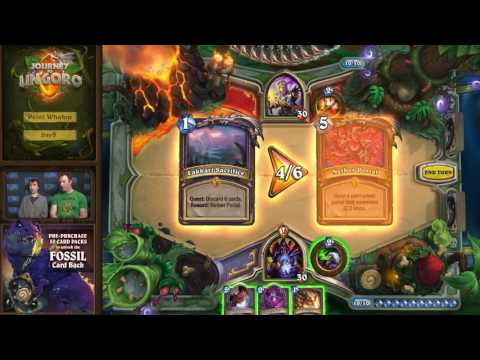 HearthStone walkthrough video.