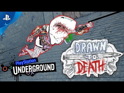 Drawn to Death Gameplay with David Jaffe | PS Underground, PS Plus