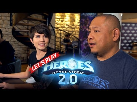 Heroes of the Storm walkthrough video.