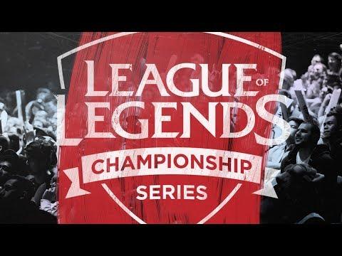 League Of Legends tournament video.