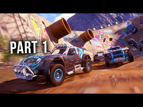 ONRUSH Gameplay Early Walkthrough Part 1 - INTRO INTO THE WORLD OF ONRUSH !!!