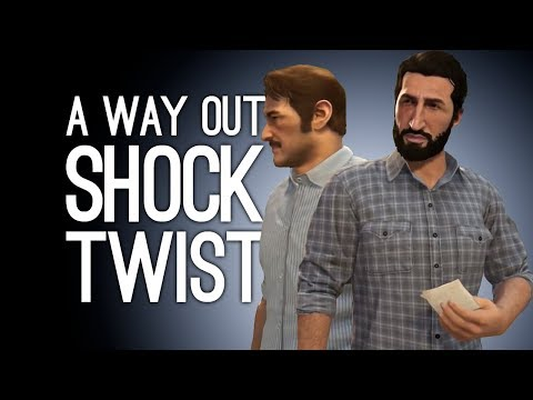A Way Out Gameplay: SHOCKING TWIST! - Let's Play A Way Out Pt. 6 ENDING