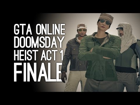 GTA Online Doomsday Heist Act 1 FINALE! (The Data Breaches) - Pt 6