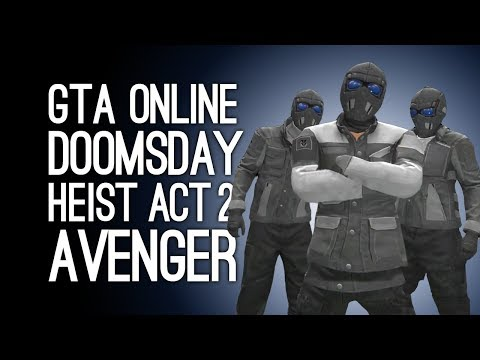 GTA Online Doomsday Heist Act 2 AVENGER HEIST! (The Bogdan Problem) - Pt 7