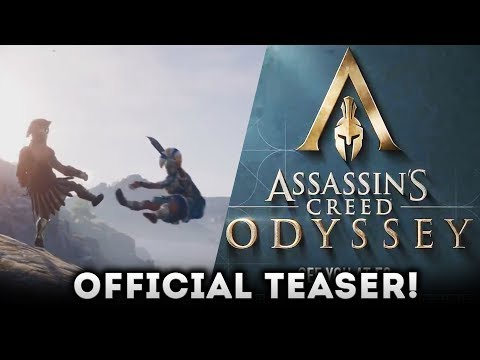 Assassin's Creed Odyssey OFFICIAL TEASER! ANCIENT GREECE! E3 2018 Gameplay Trailer Expected Soon!