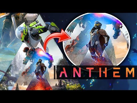 Anthem Game -  NEW EPIC ART! Volcanoes! New Javelin Classes! New Gameplay Trailer At EA Play 2018!