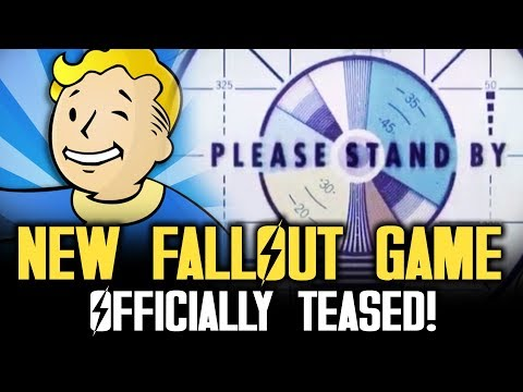 NEW FALLOUT GAME TEASED BY BETHESDA!  Fallout 5 or Fallout 3 Remastered or Fallout Online?