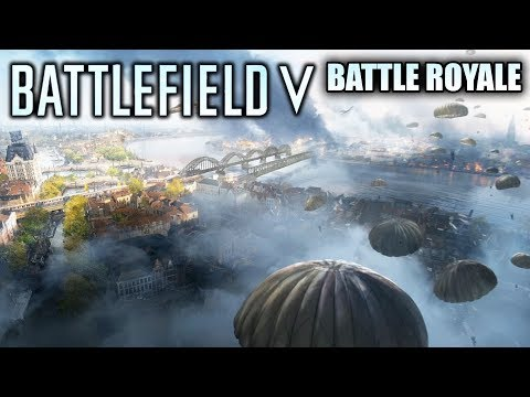 Battlefield 5 - New Battle Royale Teases! Airbone Mode and Grand Operations! New Gameplay Details!